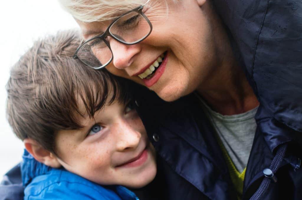 Grootmoeder belangrijk voor kleinzoon