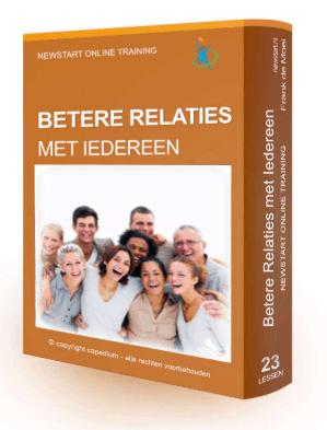 Newstart, betere relaties