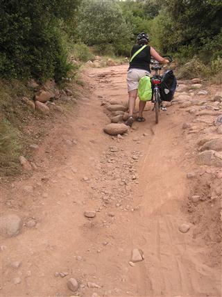 pelgrimeren over onbegaanbare wegen