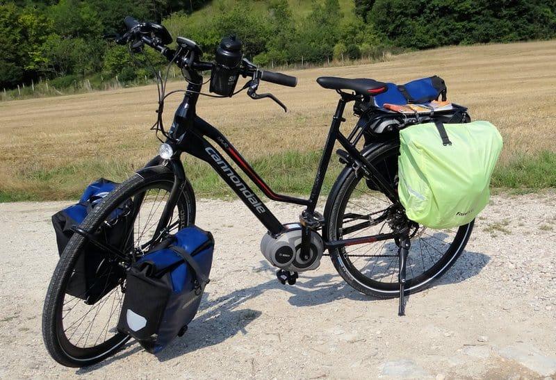 pelgrimeren op de elektrische fiets