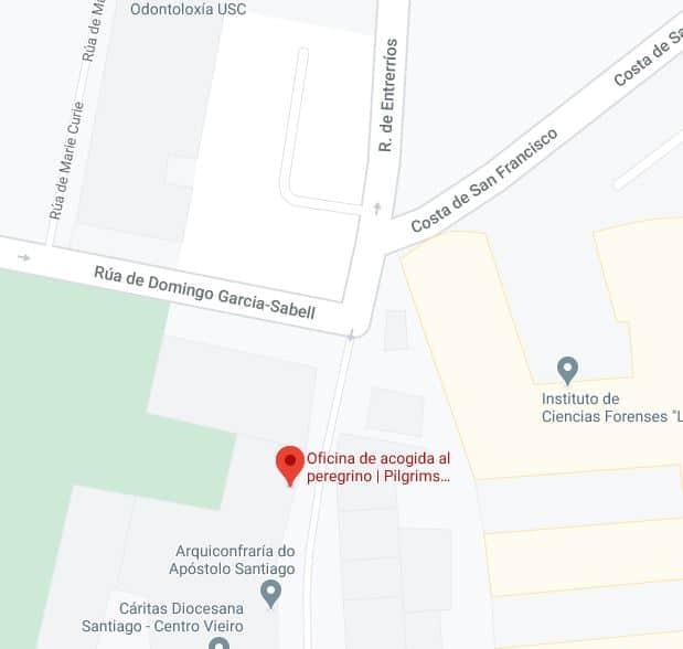 pelgrimskantoor Santiago de Compostela