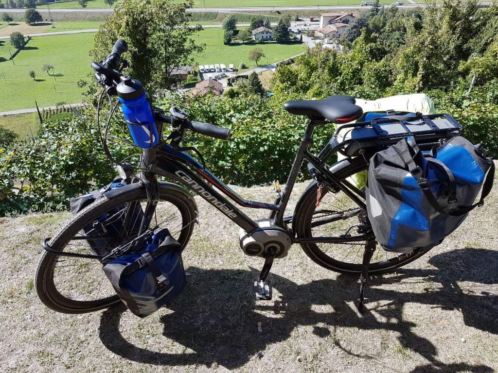 bepakken van je fiets